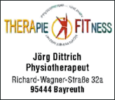 Physiotherapeut Jörg Dittrich, Bayreuth